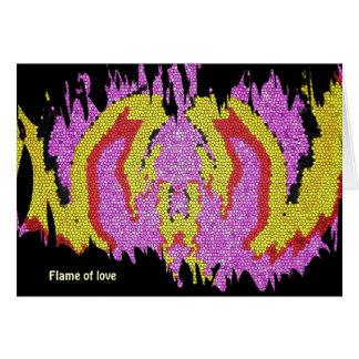 Flammes de l'amour carte