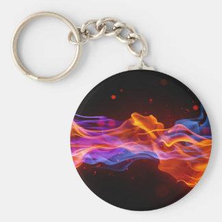 flammes porte-clés