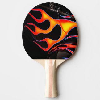 Flammes Raquette Tennis De Table