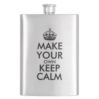 Flasque Faites vos propres garder le calme