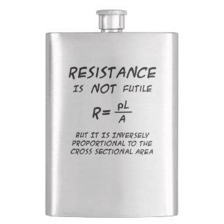 Flasque Humour de résistance