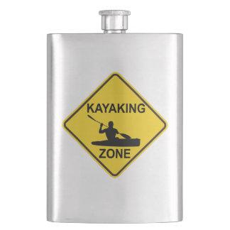 Flasque Panneau routier Kayaking de zone