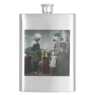 Flasque Vin de liqueur servant Amazake le vieux Japon