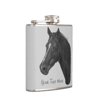 Flasques Art équin de portrait de cheval de jument de