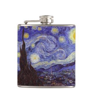 Flasques Beaux-arts de cru de nuit étoilée de Vincent van