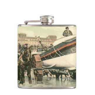 Flasques Canot de sauvetage lançant, Bridlington (1900)