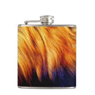 Flasques Conception à la mode de cheval de queue de texture