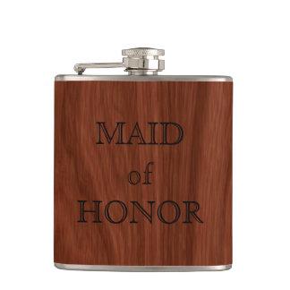 Flasques Domestique de faveur élégante de mariage de