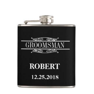Flasques Épouser de Groomsman