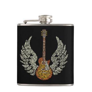 Flasques Guitare avec des ailes
