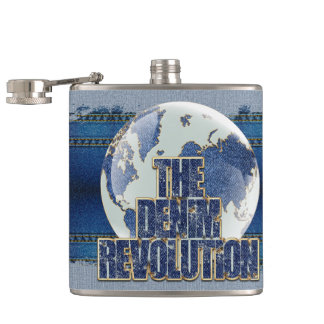 Flasques La révolution de denim