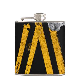 Flasques L'inscription de circulation routière de trottoir