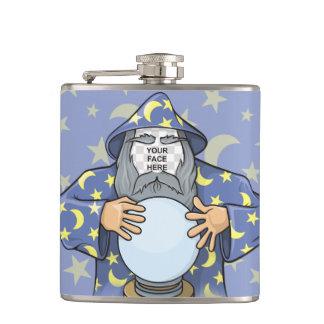 Flasques Magicien avec votre visage