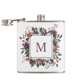 Flasques Monogramme botanique épicé de |