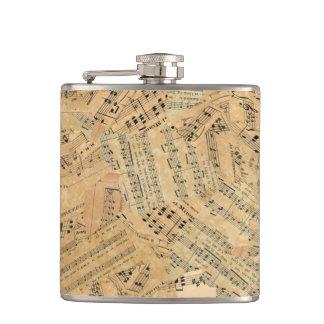 Flasques Morceaux de musique vintage POMVa