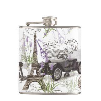Flasques Paris vintage