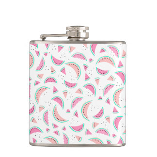 Flasques Pastèques de corail de turquoise de rose en pastel