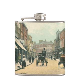 Flasques Péage Gavel, 1900) flacons de hanche de Beverley (
