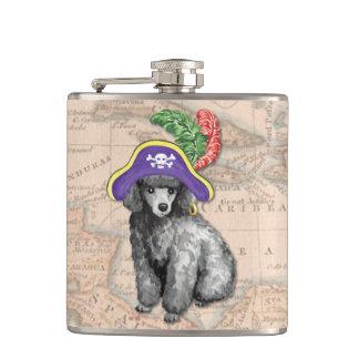 Flasques Pirate de caniche miniature