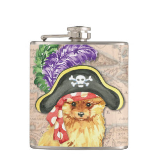 Flasques Pirate de Pomeranian