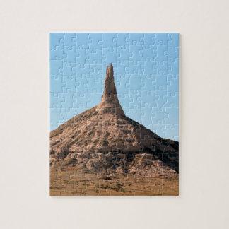 Flèche de roche de cheminée de Scottsbluff Puzzle