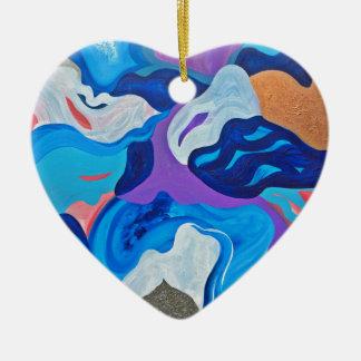 Flèche Ornement Cœur En Céramique