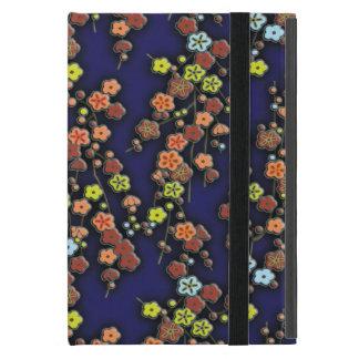 Fleur 2 de prune étui iPad mini