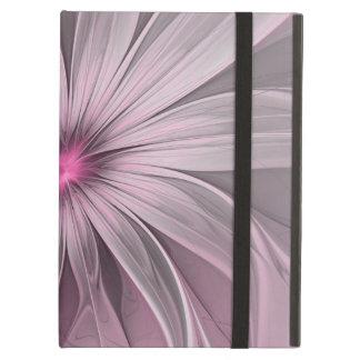 Fleur attendant un art de fractale d'abrégé sur protection iPad air