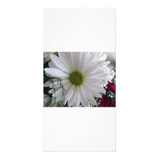Fleur Cartes De Vœux Avec Photo