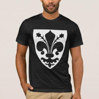 Fleur de lis noir t-shirt