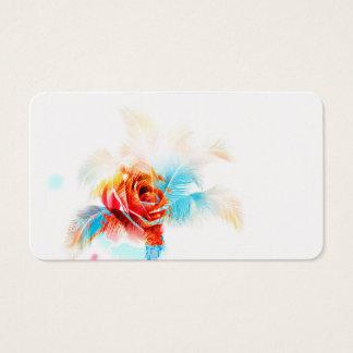 Fleur d'énergie pour vos affaires cartes de visite