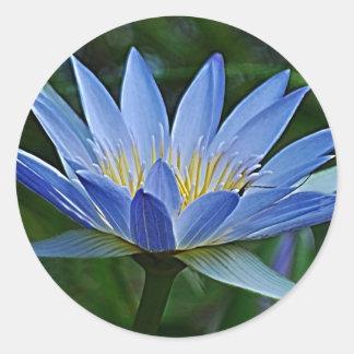 signification fleur lotus autocollants stickers. Black Bedroom Furniture Sets. Home Design Ideas