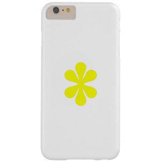 fleur jaune de coque iphone coque iPhone 6 plus barely there