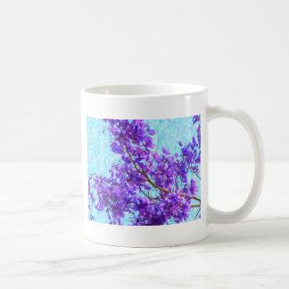 Fleur lumineuse de Jacaranda Mug