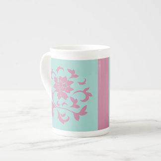 Fleur orientale - ventouse Shell - rose Mug