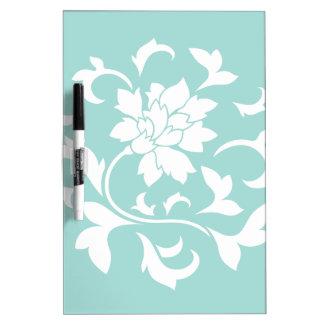 Fleur orientale - ventouse Shell Tableaux Blancs Effaçables À Sec