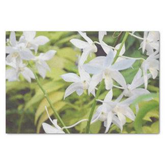 Fleur orientée papier mousseline