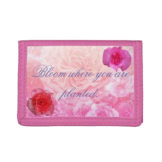 Fleur où vous êtes plantés