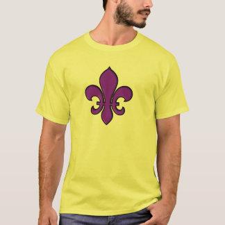 Fleur pourpre de lis - T-shirt de base