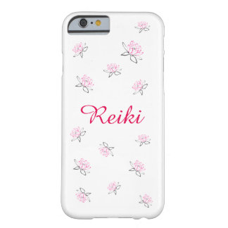 Fleur rose de Reiki Lotus Coque Barely There iPhone 6