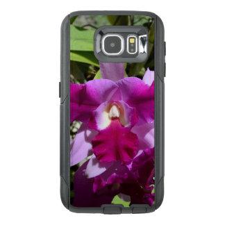 Fleur tropicale d'orchidée de Cattleya