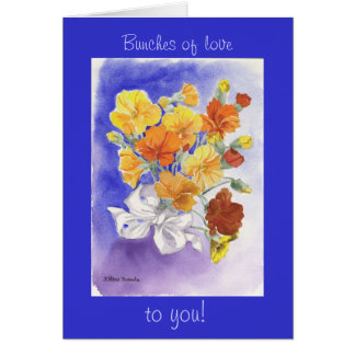 Fleur Valentine Carte De Vœux