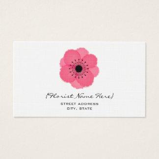 Fleuriste/carte de visite floral de concepteur - cartes de visite