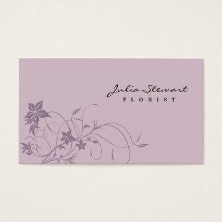 Fleuriste - cartes de visite