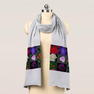 Fleurit la nature florale de motif écharpe
