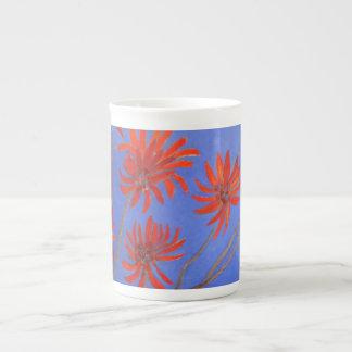 Fleurs d'arbre de flamme mug