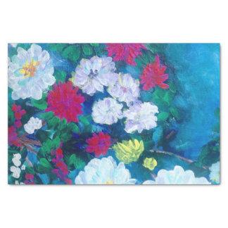 Fleurs d'art d'origianl de TQuinn au printemps Papier Mousseline