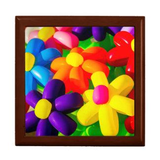 Fleurs de ballon de jouet boîtes à bijoux
