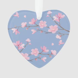 Fleurs de cerisier - bleu de sérénité -