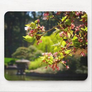 Jardin botanique tapis pour souris for Fleurs dans un jardin